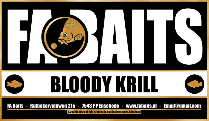 FA Baits Bloody Krill Logo 2