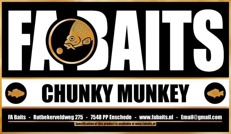 FA Baits Chunky Munkey Logo 2