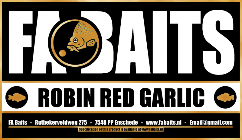 FA Baits Robin Red Garlic Logo 2