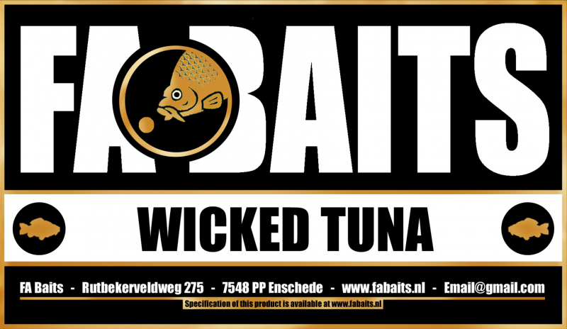FA Baits Wicked Tuna Logo 2